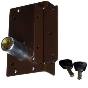 Cerradura de seguridad con cuatro pestillos