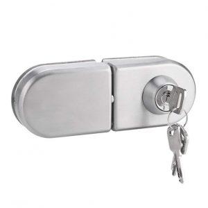 Cerradura de seguridad para puertas de cristal