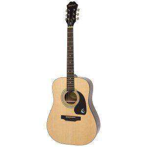 Guitarra acústica con cuerdas metálicas Epiphone