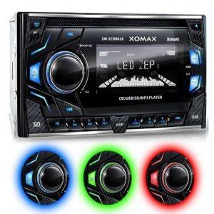 Radio cd de coche Xomax Xm