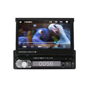 Radio con pantalla para coche y navegador